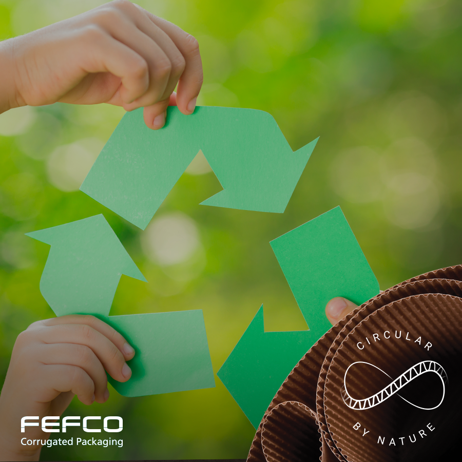 Recycling Logo © FEFCO