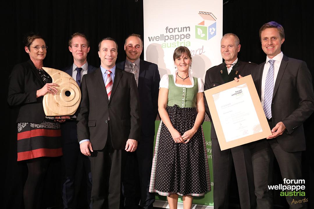 Wellpappe Award 2017 Gewinner POS Mondi Gruenburg Matador © L. Schedl