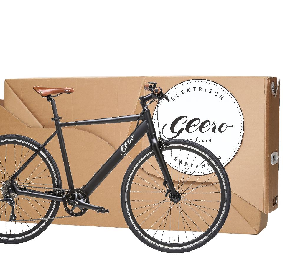 Verpackung Fahrrad, Geero © Schedl