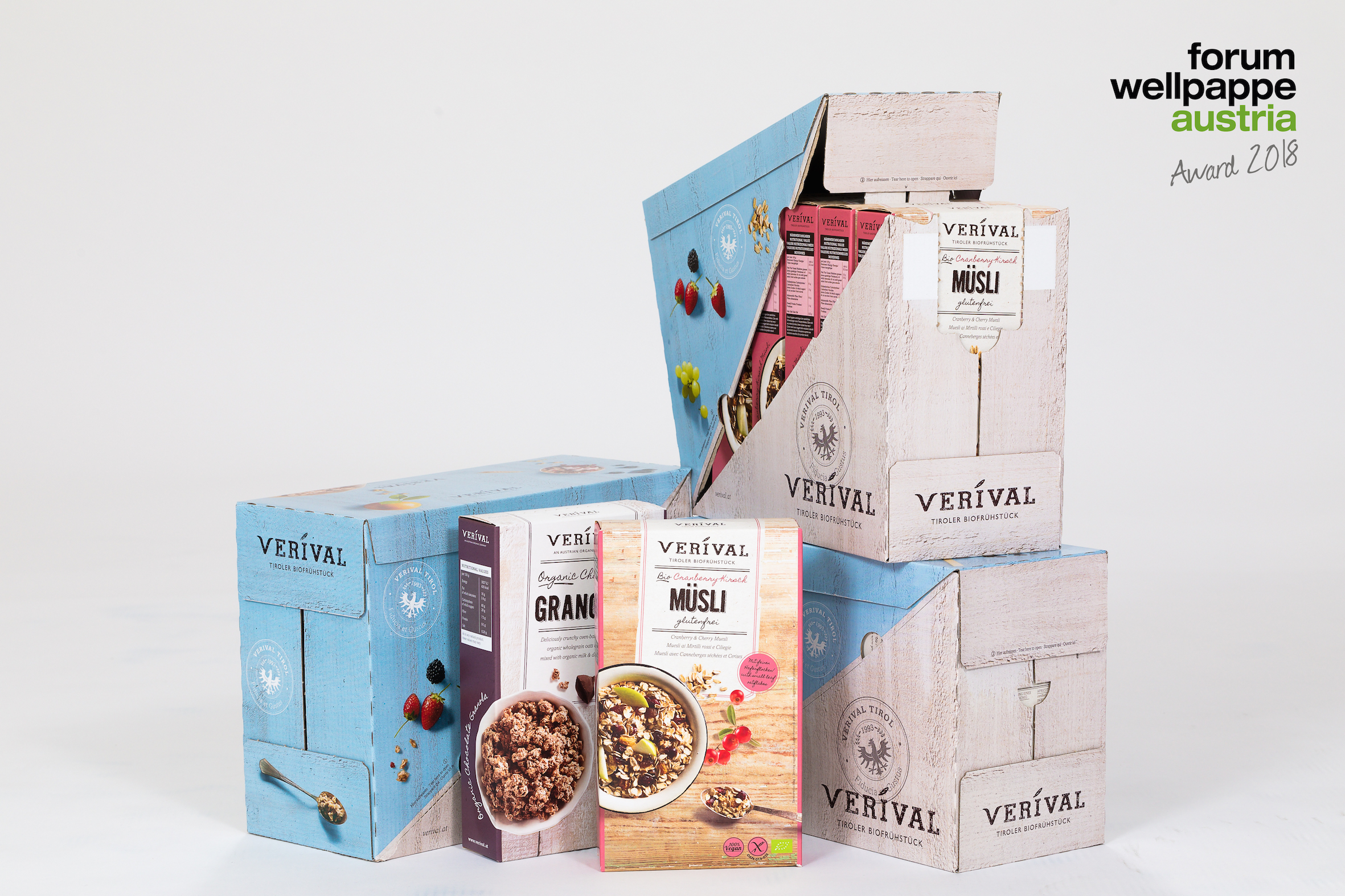 WELLPAPPE AWARD 2018 GEWINNER POS DS SMITH PACKAGING AUSTRIA © COM_UNIT/L. SCHEDL