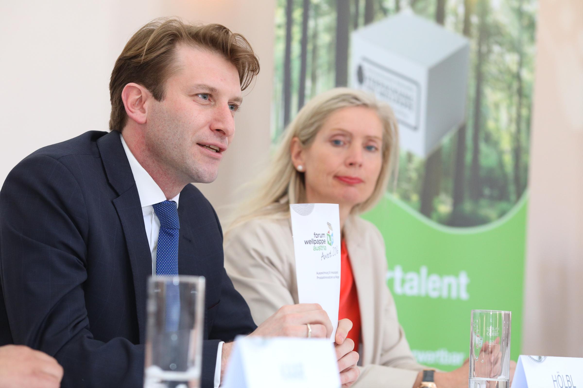 Max Hoelbl, T. Dietrich-Huebner, FWA Pressekonferenz © L. Schedl