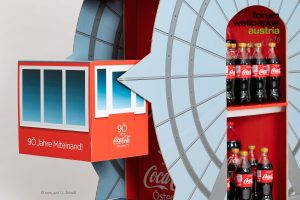Coca Cola Riesenrad, Gewinner Displays, MVG