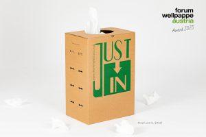 Just In Paperbox, Gewinner nachhaltig, Dunapack Packaging Wien